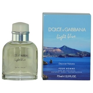 Dolce & Gabbana Light Blue Discover Volcano Men's 2.5-ounce Eau de Toilette Spray