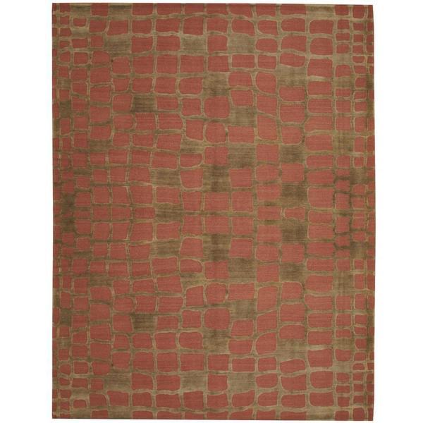 Shop Handmade Herat Oriental Indo Tibetan Wool Rug India
