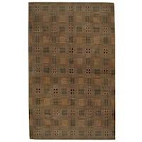 Herat Oriental Indo Hand-knotted Tibetan Wool Rug - 8'10 x 12'4