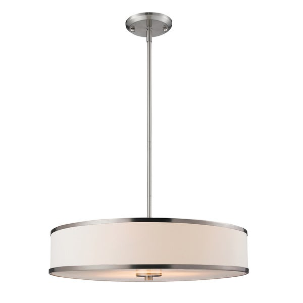 Shop Avery Home Lighting Cameo Brushed Nickel Convertible