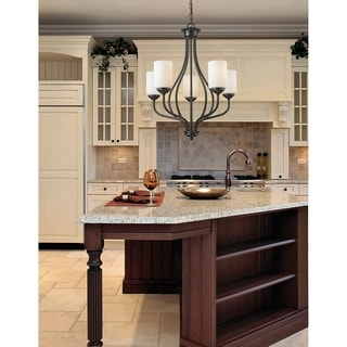 Z-Lite Cardinal 5-light Olde Bronze Chandelier