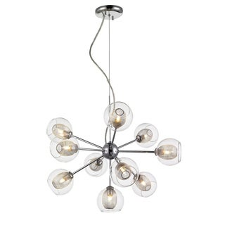 Z-Lite Auge Polished Chrome 10-light Chandelier