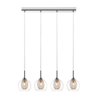 Z-Lite Auge 4-light Chrome Pendant