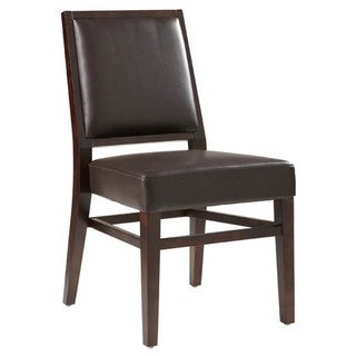 Sunpan '5West' Citizen Bonded Leather Dining Chair (Set of 2)