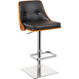 Sunpan 'Urban Unity' Braiden Black Adjustable Bar Stool