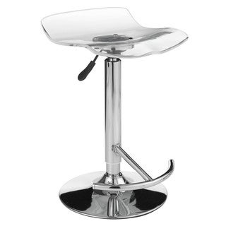 Sunpan 'Urban Unity' California Acrylic Adjustable Bar Stool