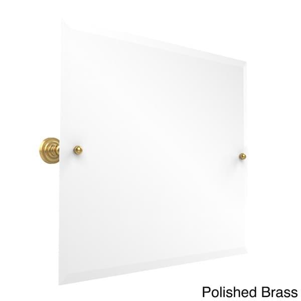 Bathroom Tilt Mirror: Shop Allied Brass Rectangular Landscape Bathroom Tilt Wall