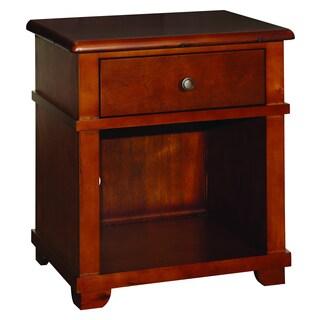 Woodridge Chestnut 1-drawer Nightstand