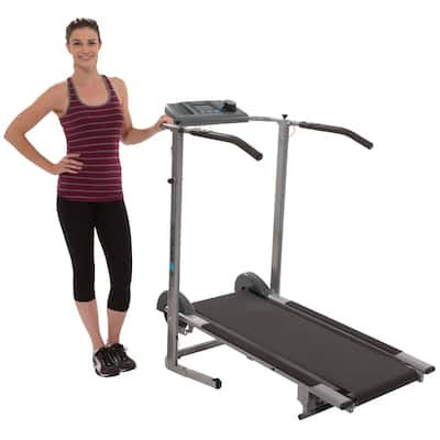 Exerpeutic 100XL High-capacity Magnetic Resistance Manual Treadmill