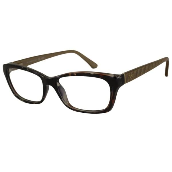 6259b12218f Shop Fendi Women s F1034 Rectangular Optical Frames - Free Shipping ...