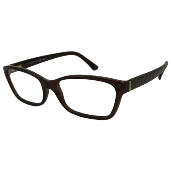 0879465c8ab1 Shop Fendi Women's F939 Rectangular Optical Frames - Free Shipping ...
