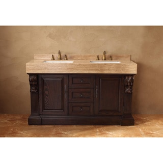 James Martin Furniture Toscano 60-inch Double Vanity Set