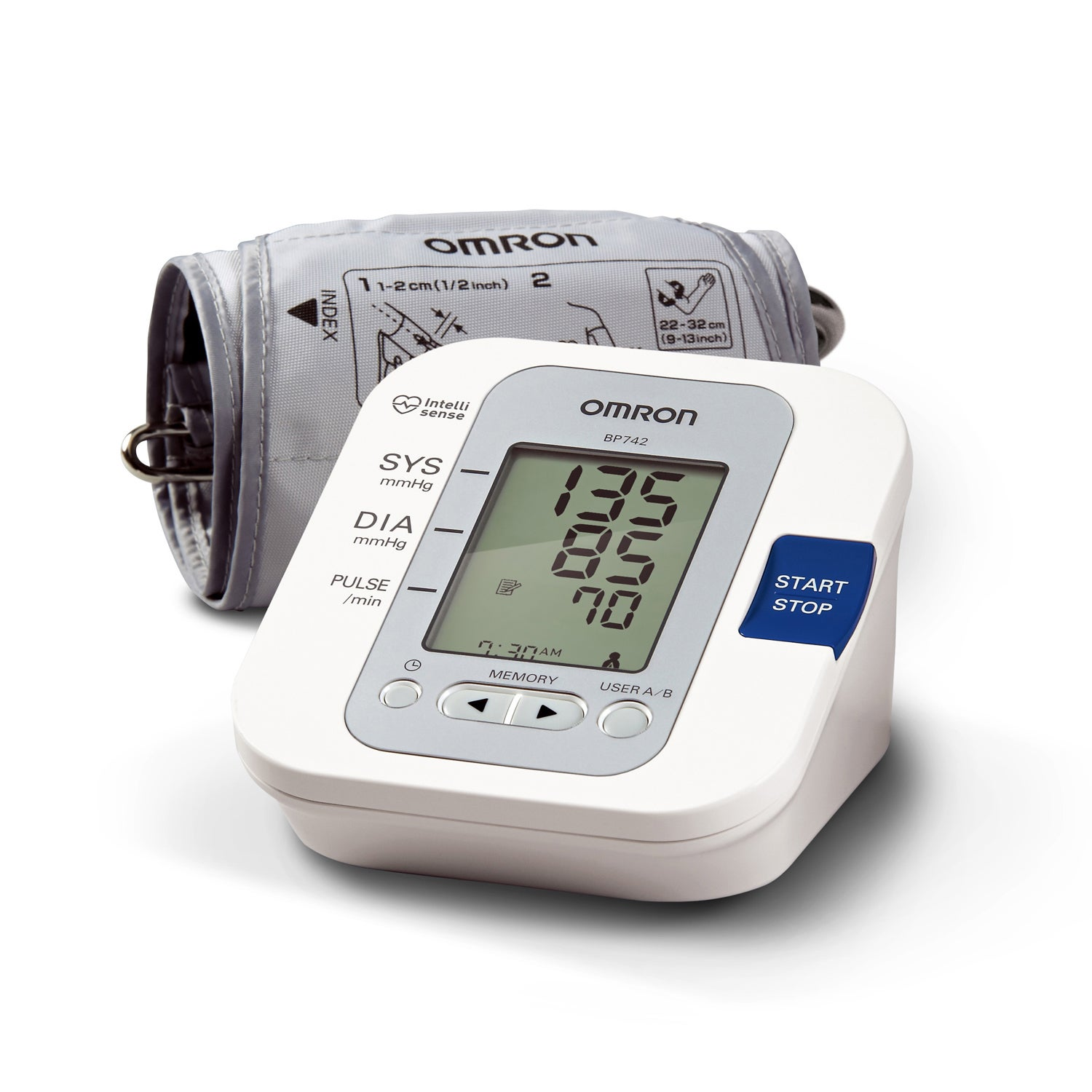 OMRON 5-Series Upper Arm Blood Pressure Monitor with Wide...