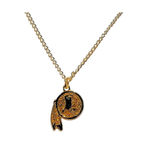 NFL Washington Redskins Glitter Pendant Necklace