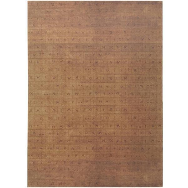 Handmade Tibetan Wool Rug (India) - 8'2 x 11'7