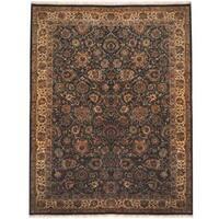 Handmade Herat Oriental Indo Tabriz Wool Rug  - 9'4 x 12' (India)