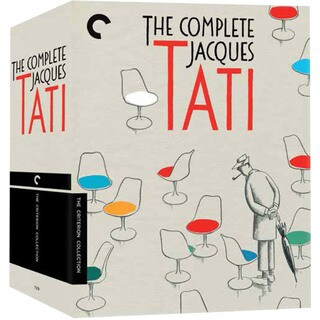 The Complete Jacques Tati Box Set (DVD)