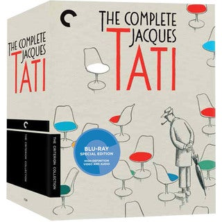 The Complete Jacques Tati Box Set (Blu-ray Disc)