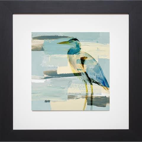 Lanie Loreth 'Great Blue Heron' Framed Art Print - multi