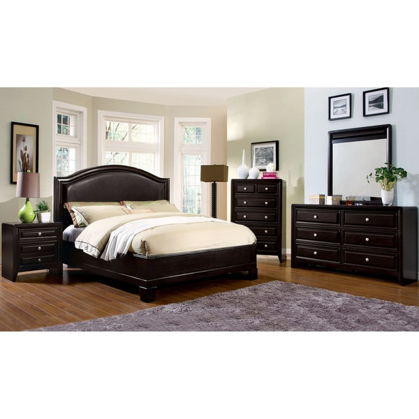 Furniture of America 4-piece Transitional Style Bedroom Set - Free ...