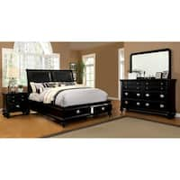 Furniture of America Modern 4-piece Platform Bedroom Set