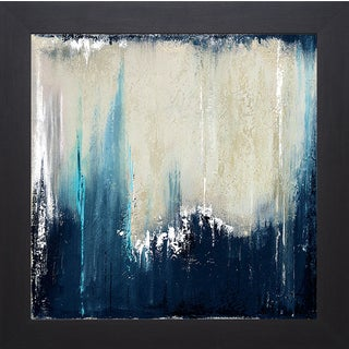 Patricia Pinto 'Blue Illusion I' Framed Art Print