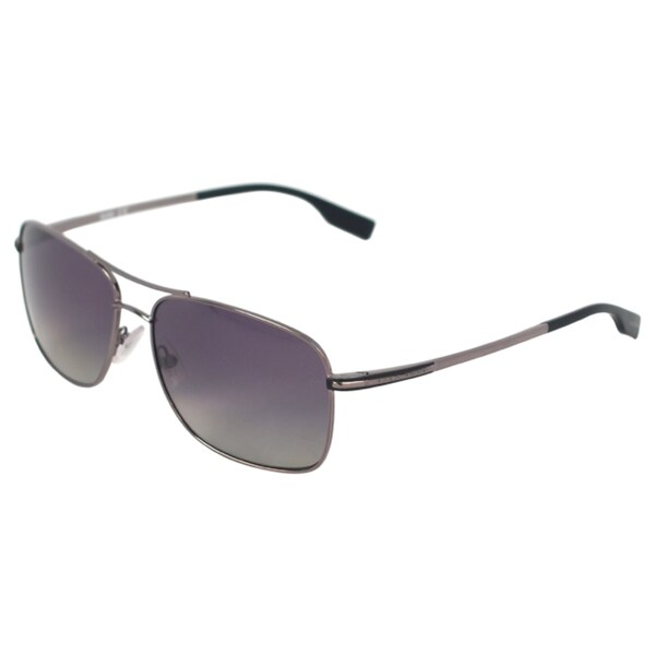 be9c6f7676d Shop Hugo Boss Men s  0581 P S AGLWJ  Sunglasses - Free Shipping ...
