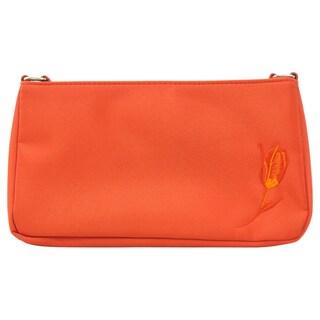 Nino Cerruti 'Image' Orange Canvas Handbag