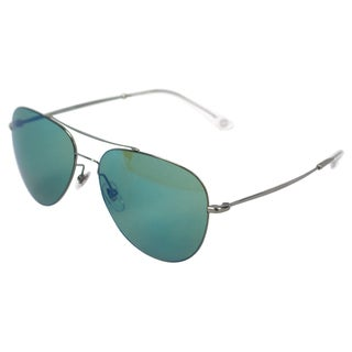 Gucci 'GG 2245/S 6LBHZ' Ruthenium Grey Aviator Sunglasses