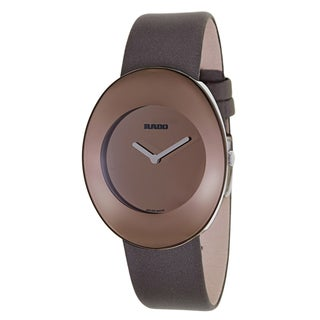 Rado Women's 'Esenza' Brown Stainless Steel Swiss Quartz Watch