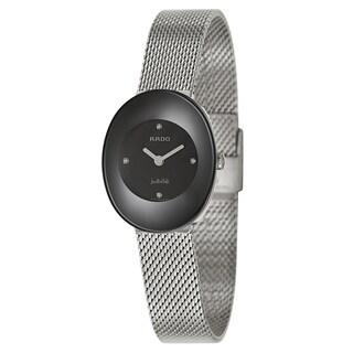 Rado Women's R53743713 'Esenza Jubile' Stainless Steel Swiss Quartz Watch