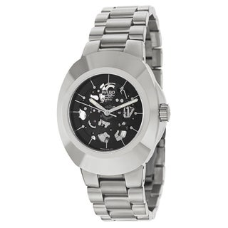 Rado Men's R12828163 'Original' Stainless Steel Skeleton Watch