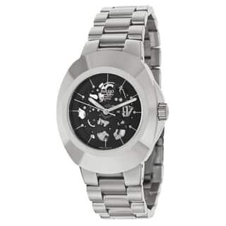 Rado Men's R12828163 'Original' Stainless Steel Skeleton Watch https://ak1.ostkcdn.com/images/products/9245642/P16411599.jpg?impolicy=medium