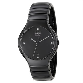 Rado Men's 'Rado True Jubile' Ceramic Swiss Quartz Watch