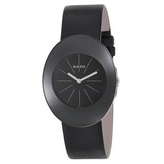 Rado Women's R53739175 'Esenza' Stainless Steel Swiss Quartz Watch - Black
