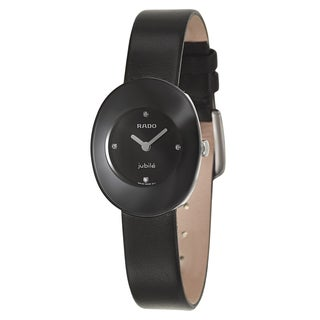 Rado Women's R53743715 'Esenza Jubile' Stainless Steel Diamond Accent Watch