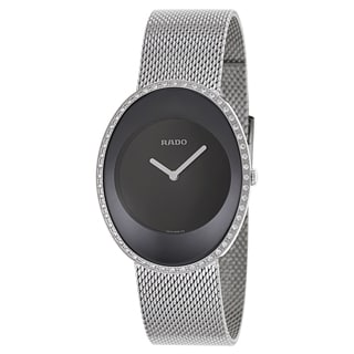Rado Women's R53761153 'Esenza Jubile' Diamond Stainless Steel Swiss Quartz Watch