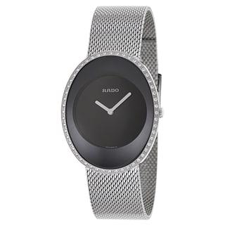 Rado Women's R53761153 'Esenza Jubile' Diamond Stainless Steel Swiss Quartz Watch