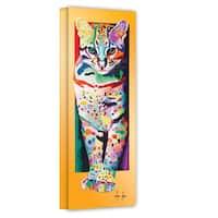 Linzi Lynn 'Night Hunt' Gallery-wrapped Canvas