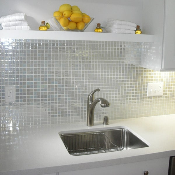 viridian pearl moonlight 98 percent recycled glass tile