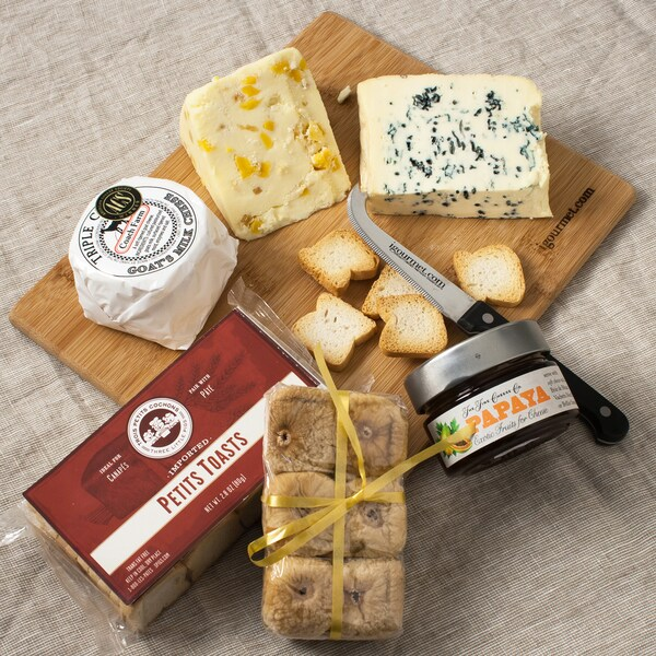 igourmet Dessert Cheese Board Gift Set