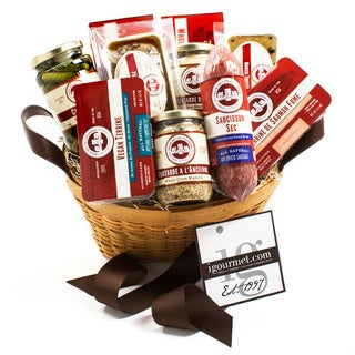 igourmet Les Trois Petits Cochons Classic Gift Basket