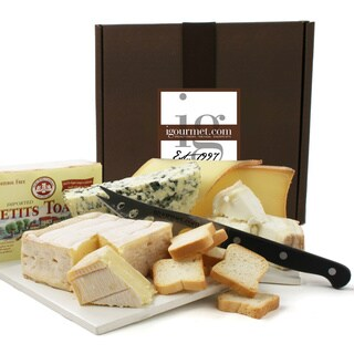 igourmet French Cheeses for the Connoisseur in Gift Box
