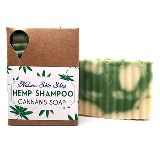 Hydrating All Natural Cold Process 5-ounce Hemp Shampoo Bar