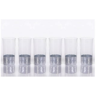 """Vitorrio"" Highball Glass, Silver (Set of 6)"