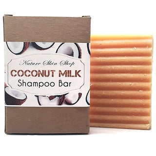 Nature Skin Shop Coconut Milk Cold Process All Natural 5-ounce Shampoo Bar