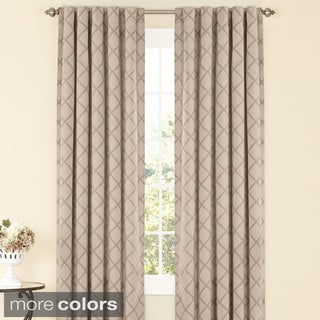 Sure Fit Durham Lattice Curtain Panel