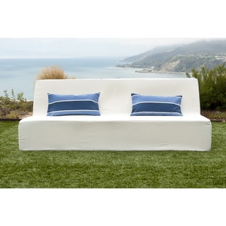 Softblock Lowboy White Indoor/ Outdoor Sofa