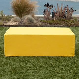 Softblock Lowboy Yellow Indoor/ Outdoor Ottoman