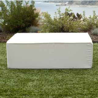 Softblock Lowboy White Indoor/ Outoor Ottoman